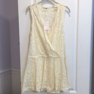 NWT Free People Lace Dress.